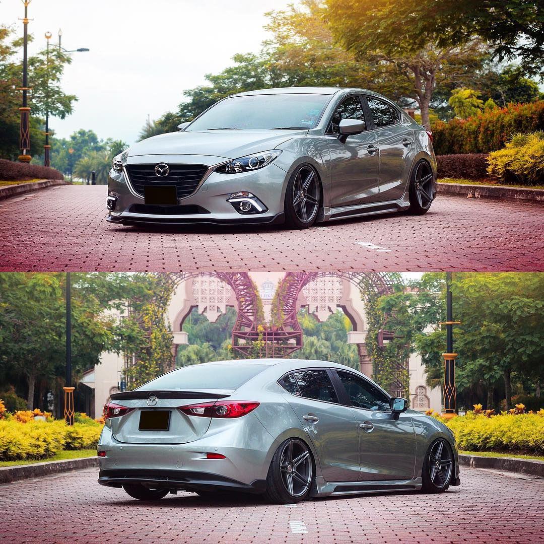 Mazda Mazda 3: Touch The Road #mazda #mazda3 #axela #JDM #car #lowered