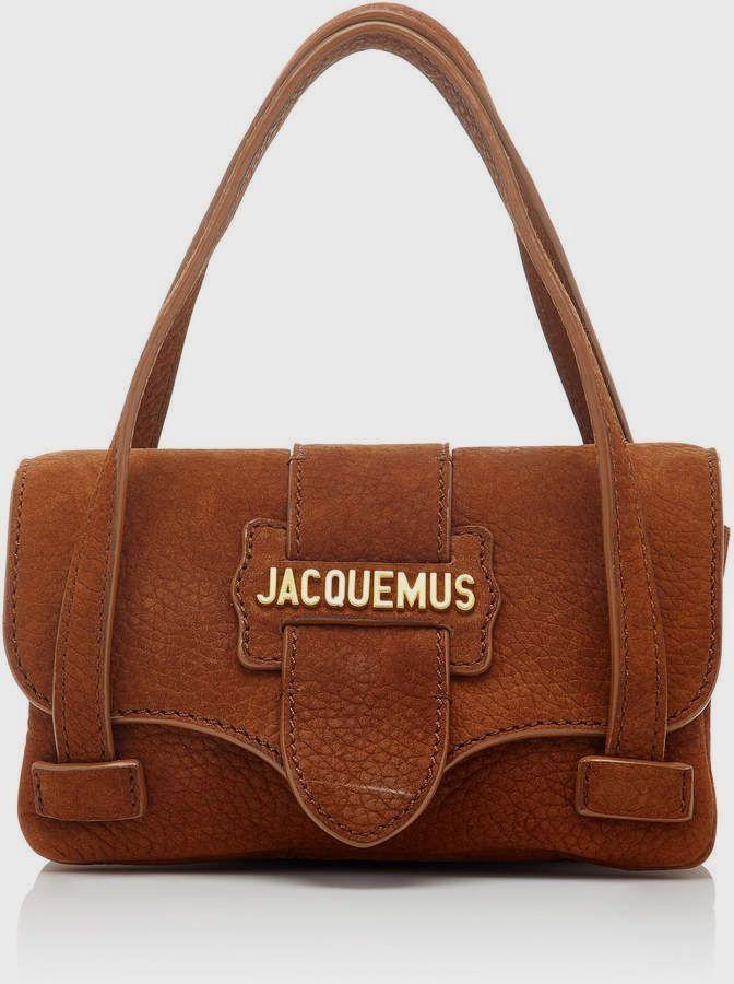 79a26a5cae902 Jacquemus Le Minho Nubuck  Leather Micro Bag soft leather  handbags ...