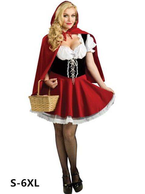 Intimates & Sleep Lil Red Riding Hood Halloween Costume Fairytale Outfit Set Products Are Sold Without Limitations Intelligent Roleplay