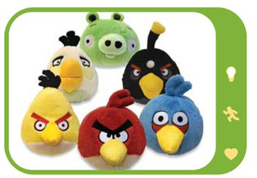 Noah Loves Angry Birds These Plushes Will Go Perfect On His Bed