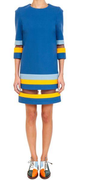 TATA NAKA   Padded Shift Stripe Dress - Lyst