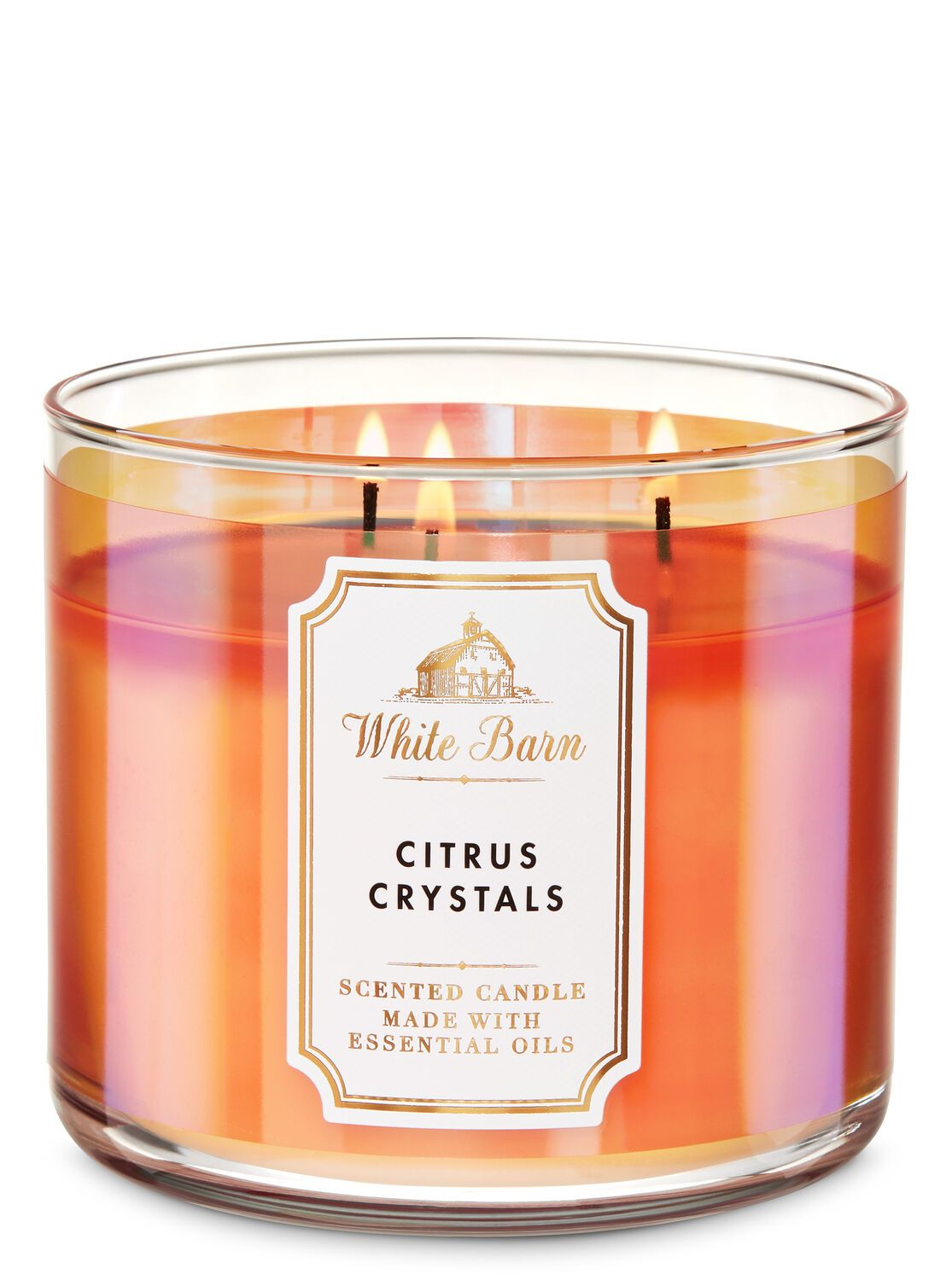 Bath body works citrus crystals 3wick candle in 2020