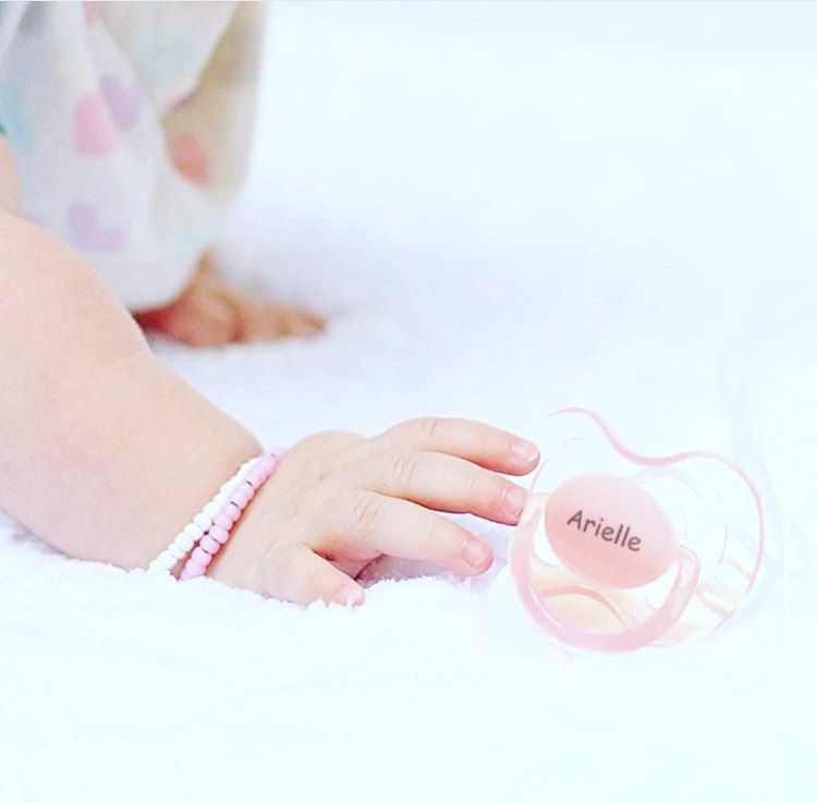 Avent personalized pacifiers engraved with babys name or monogram items similar to personalized pacifiers pacidoodle pacifiers baby girl personalized pacifiers monogram pacifier personalized baby girl gift pink pacifier on negle Images
