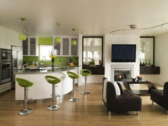 Décoration et aménagement intérieur pour petits éspaces idée agencement cuisine moderne pour petit espace