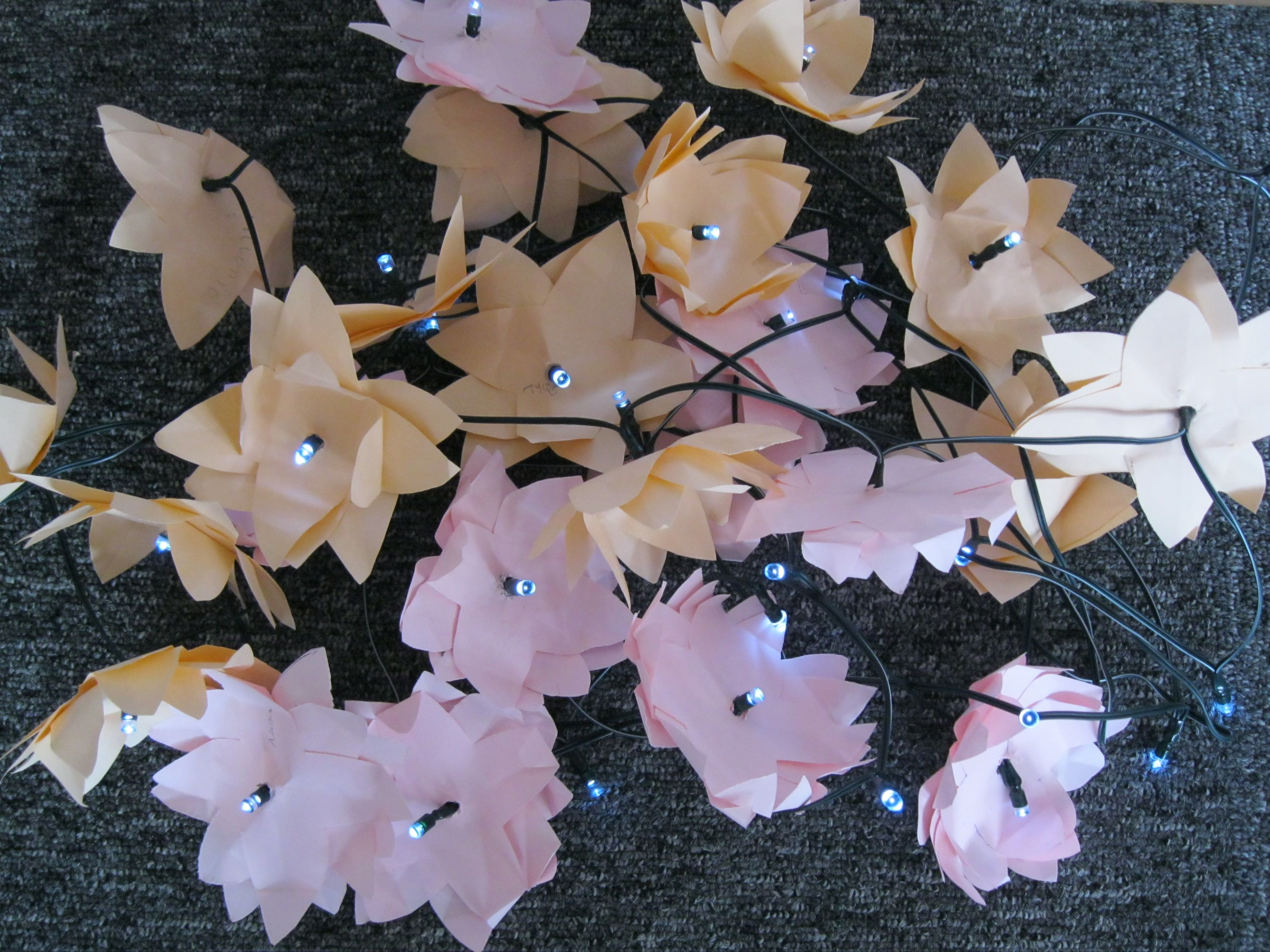 Paper Lotus Flowers Made With Ks1  Add To A