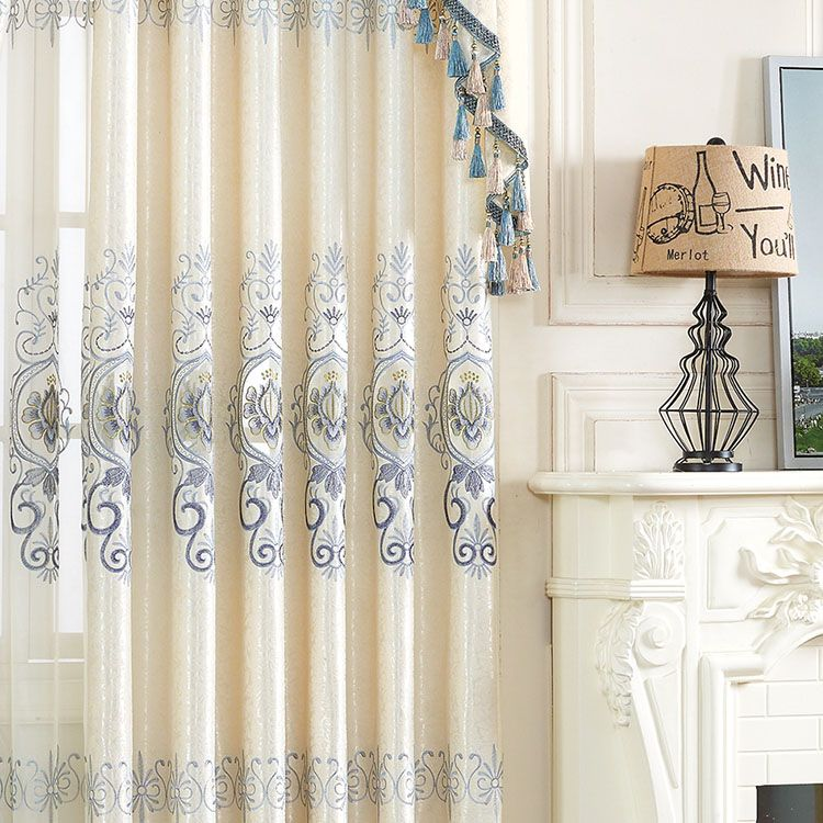 2017 Latest Curtain Designs African Classic Fabric Curtain For
