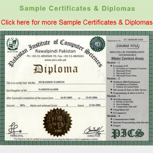 Experienced base Certificate And Diploma (Govt Recognized ) Online ...