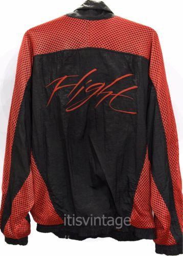 8b0448b3e0f Original Vintage 1989 Nike Air Jordan IV 4 Flight Windbreaker XL Jacket OG  Bred Original Vintage 1989 Nike Air Jordan IV 4 Flight Windbreaker XL Jacket  ...