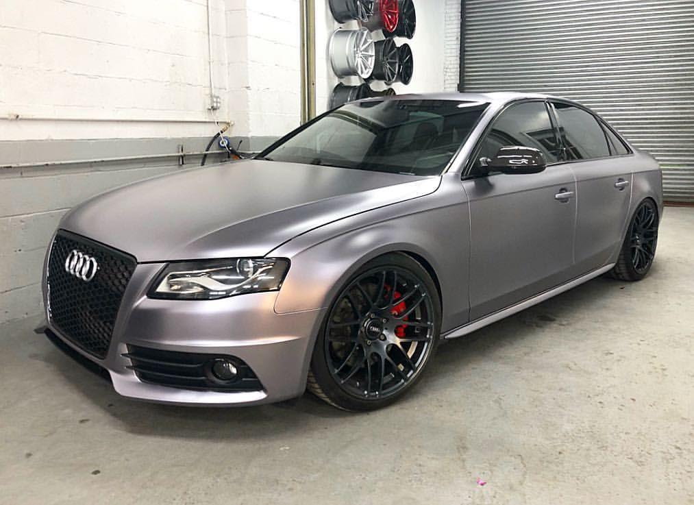 J U D G E M E N T D A Y Teckwrap S Ech03 Charcoal Grey Matte Metallic Ndvinyls Wrapped Audi Satinch Matte Metallic Charcoal Grey Car Wrap