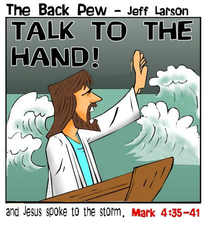 Image result for jesus calms the storm meme