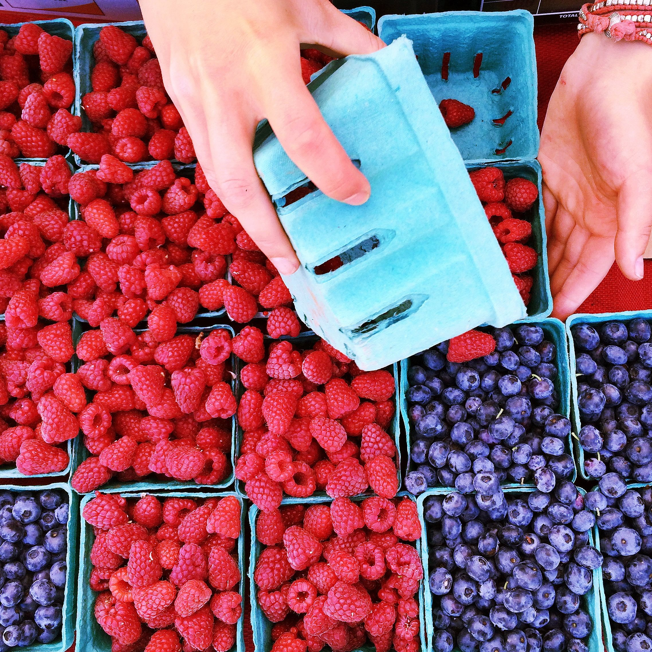 Fresh from the farm! Berries at our South Lake Union Express Market
