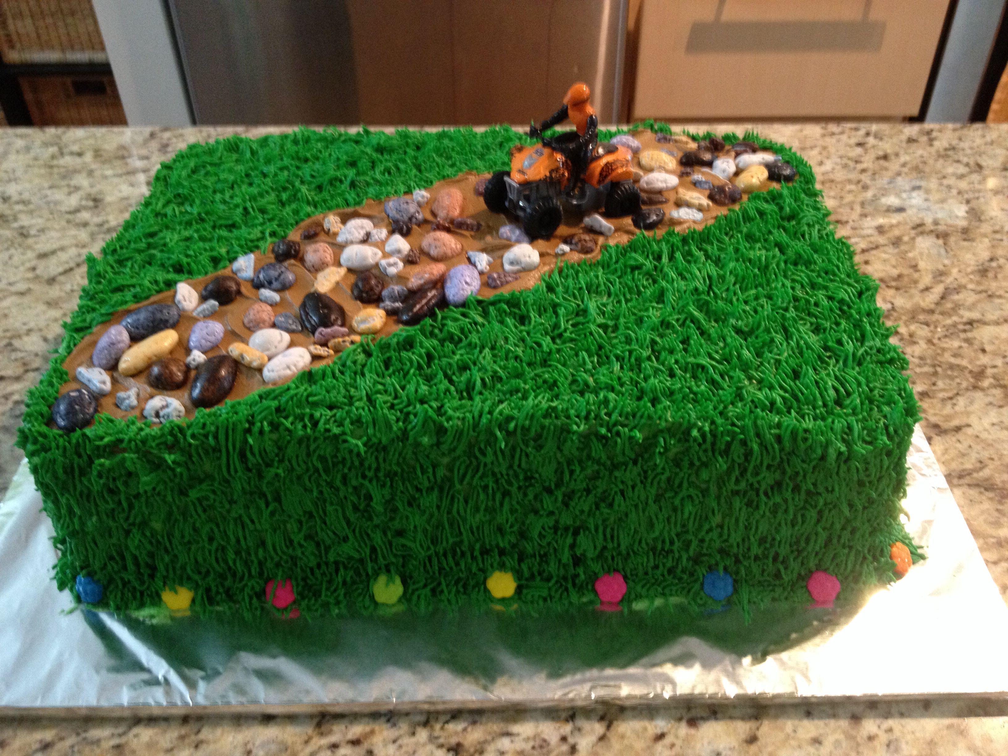 Quad Cake Food Pinterest Cake Birthday Cake And Cake Decorating