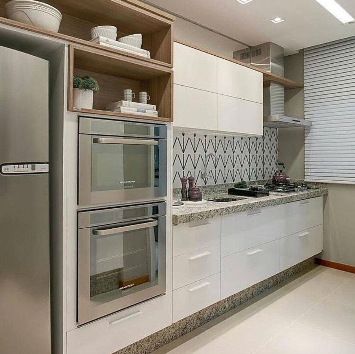 Pin De Kavitha Sridhar En Kitchenette Pinterest Cocinas  ~ Cocinas Pequeñas Para Apartamentos