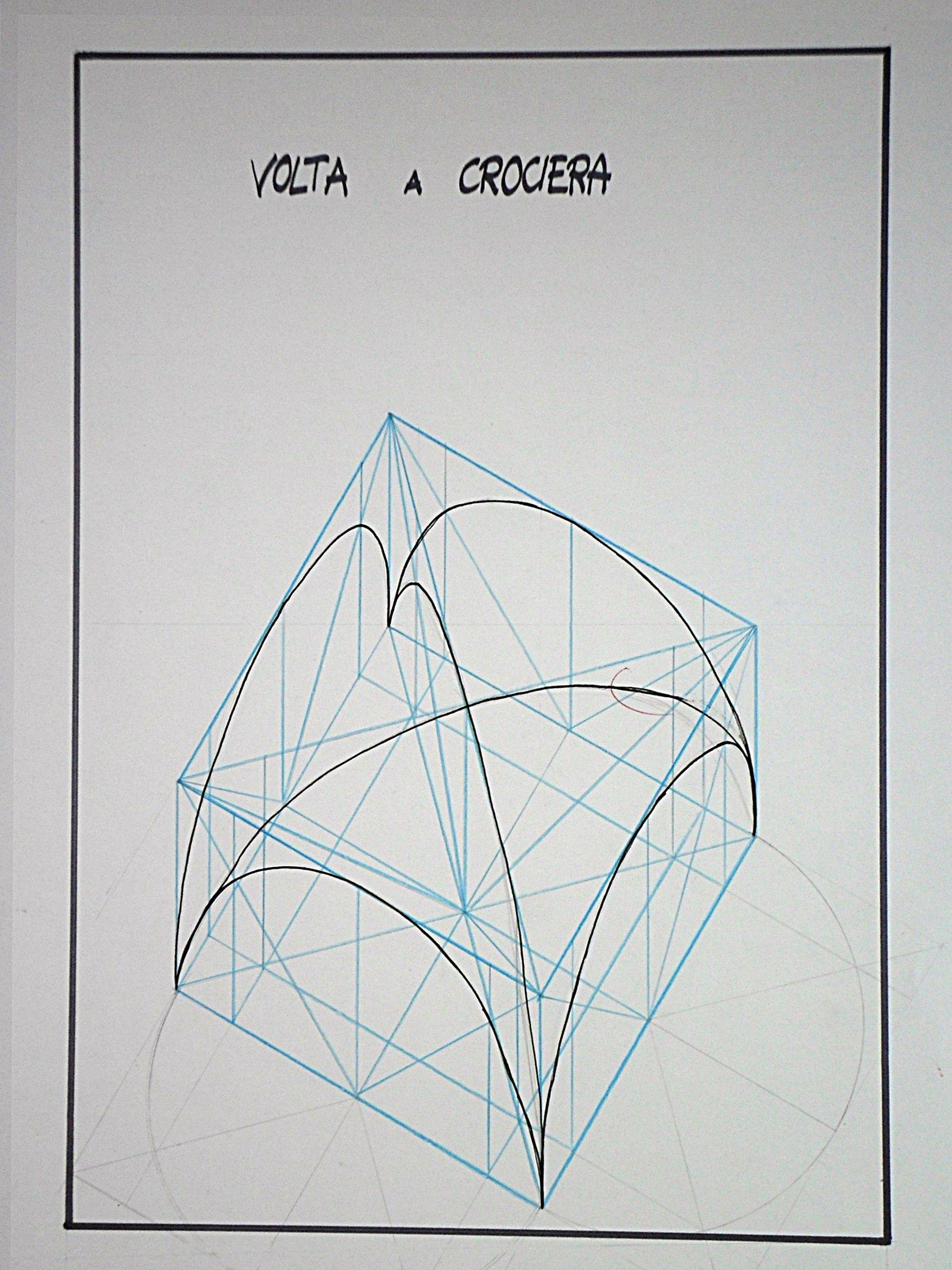 Volta A Crociera Disegno Tecnico Disegni Geometria