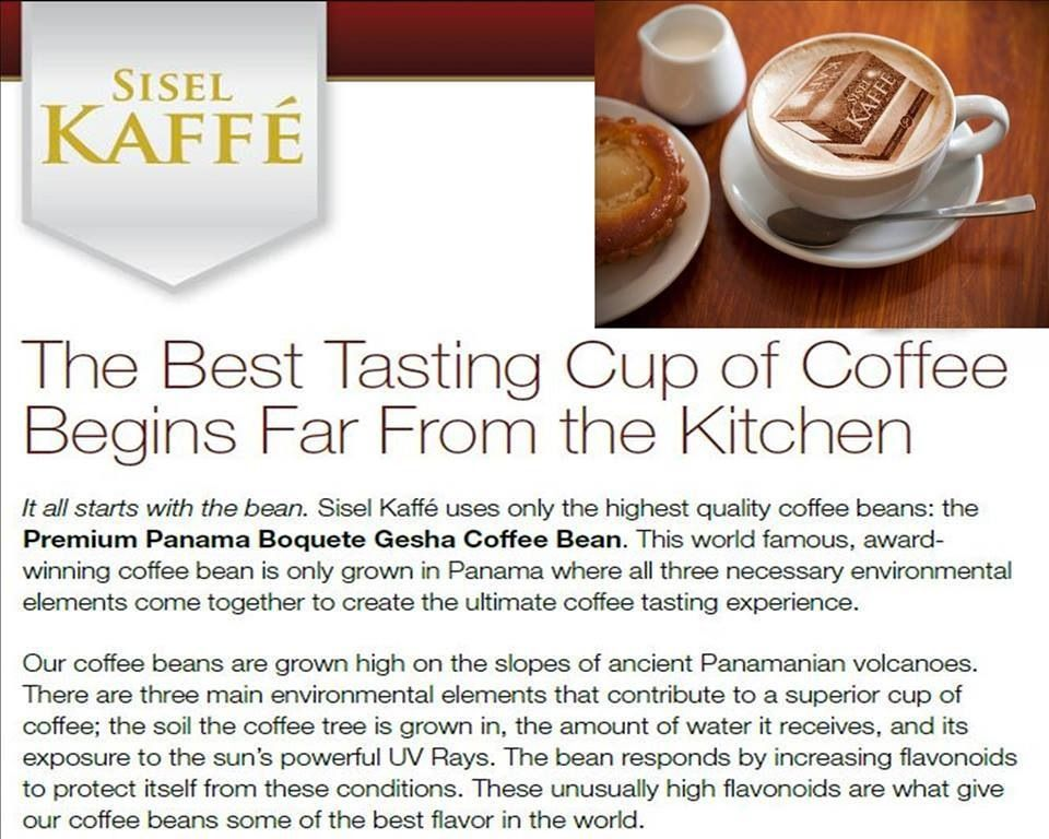 World Taster\'s Cup #1 Coffee for Taste. SISEL makes it the ...
