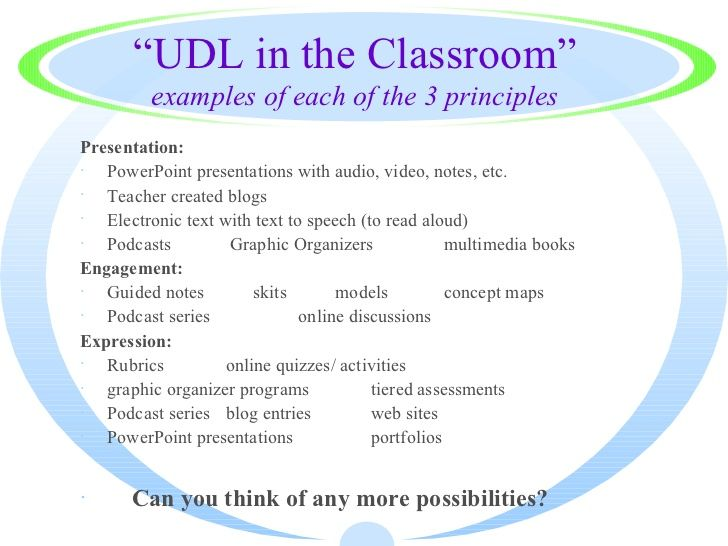 Image Result For Universal Design For Learning Methods Of - Universal design for learning lesson plan template