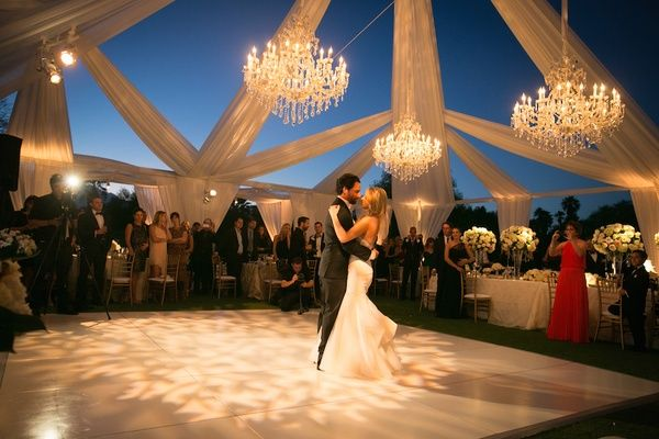 Poolside Ceremony + Amazing Open-Air Tented Reception In