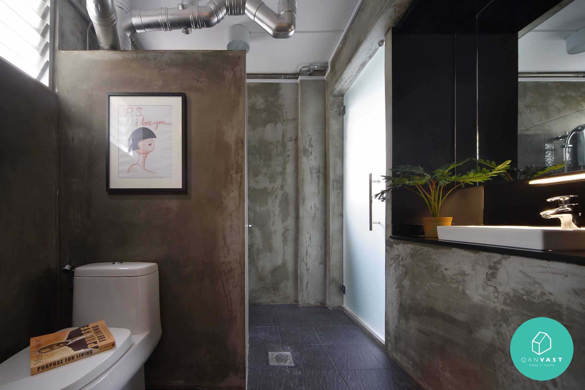 Hdb Cement Bathroom