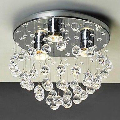 Goedkope Crystal Plafondlamp Inbouw Moderne Led Crystal Plafond Verlichting Voor Woonkamer Lamp Slaapkamer Lustres H Lampen Woonkamer Plafondverlichting Lampen