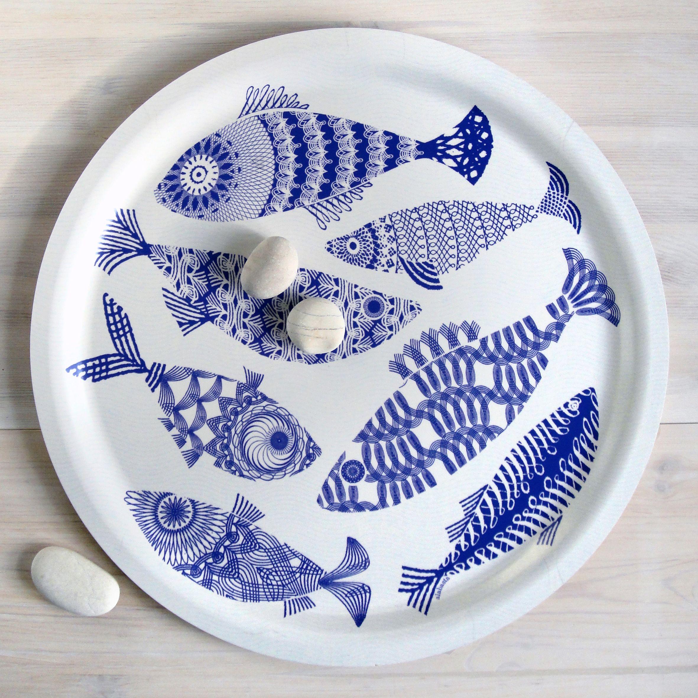 Blue Fish from the Alabasta collection of Scandinavian birch wood trays by British textile designer Asta Barrington.  sc 1 st  Pinterest & Alabasta Fish Arytrays Sweden | Art | Pinterest | Fish and Pottery
