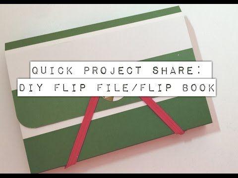DIY Flip File/Flip Book!!