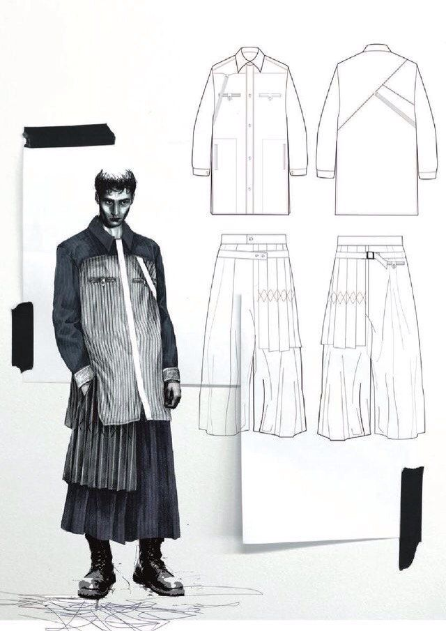 Fashion-эскизы в ADOBE PHOTOSHOP