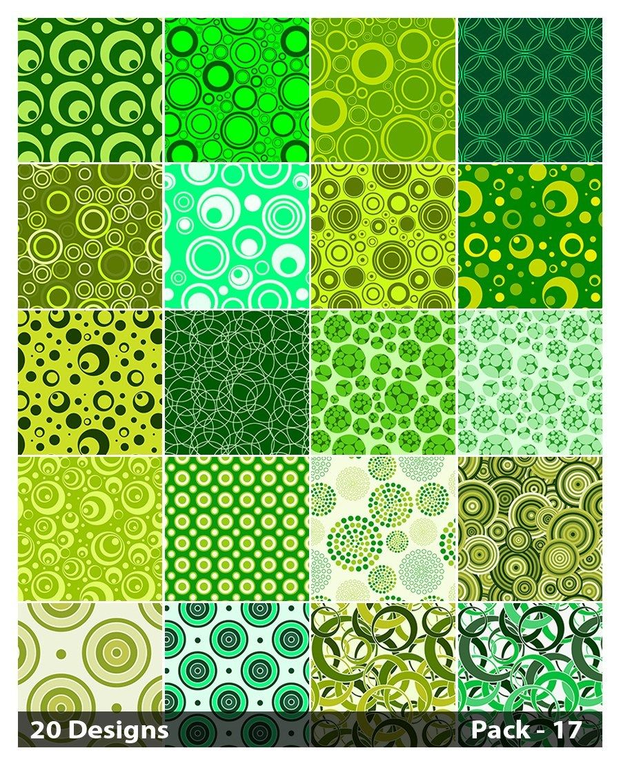 65 Free Floral Vector Ornaments Pack Geometric circle