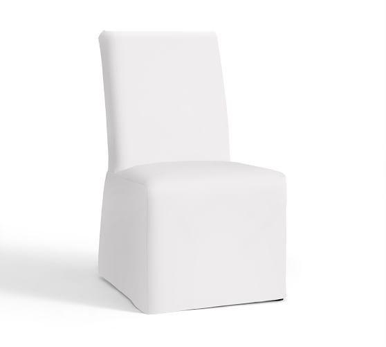 PB Comfort Square Chair Slipcovers   Pottery Barn
