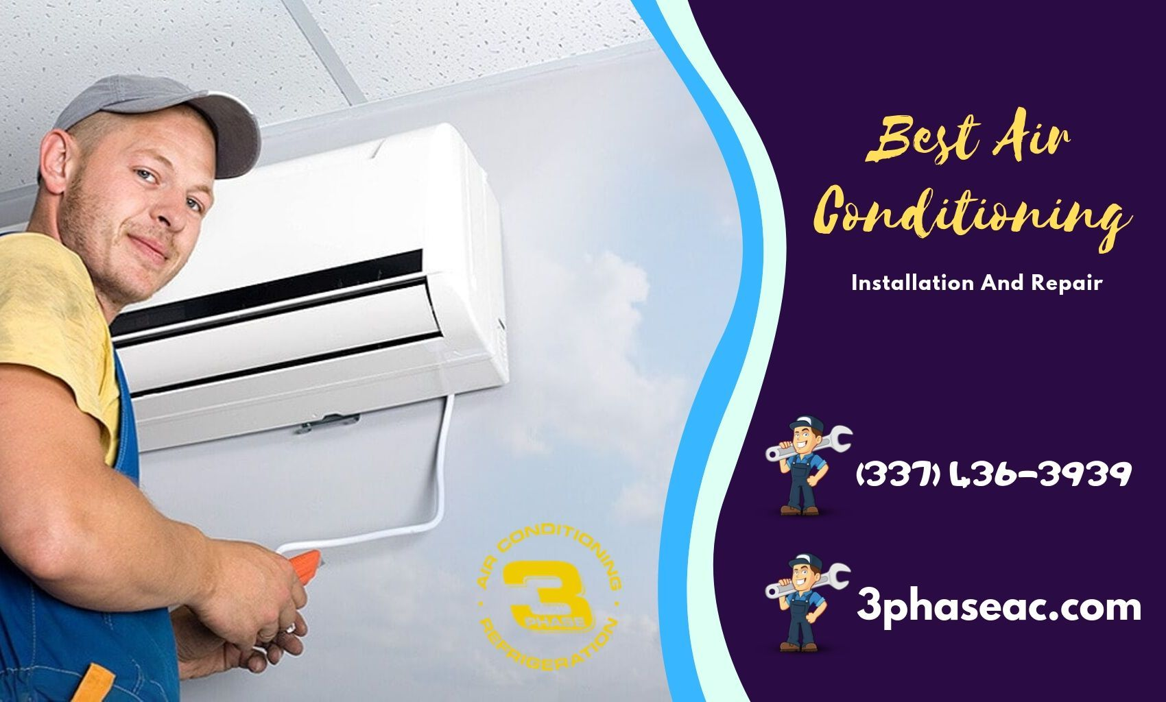 We Offer 100 Guaranteed Air Conditioning Installation And Repair