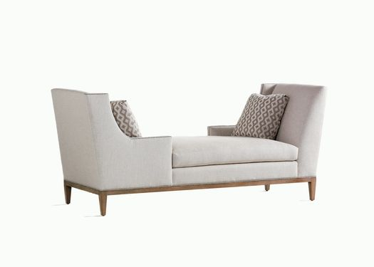 Jessica Charles Collin Tete A Tete Chaise Lounge, Available At Giorgi  Brothers