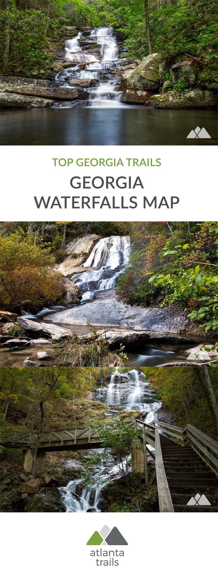 Georgia Waterfalls Map - more than 50 top waterfall hikes ... on georgia hiking trails with waterfalls, georgia animals map, georgia foliage map, georgia alabama mississippi map, georgia creeks map, georgia fishing map, georgia forests map, georgia art map, georgia russia on map, georgia landmarks map, georgia historical sites map, georgia beach map, blue ridge parkway map, georgia fall scenery, nh new hampshire road map, georgia panther creek waterfalls, chattahoochee national forest trail map, georgia water map, georgia rain map, georgia springs map,