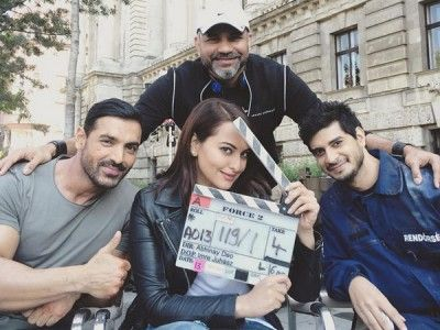 John Abraham and Sonakshi Sinha bond in Budapest