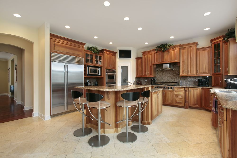 Best 43 New And Spacious Light Wood Custom Kitchen Designs 400 x 300