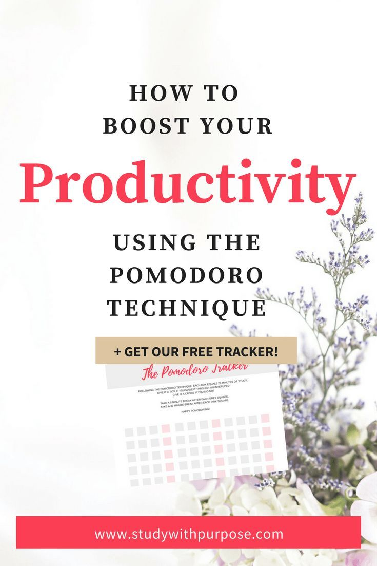 Boosting Productivity The Pomodoro Technique Learning