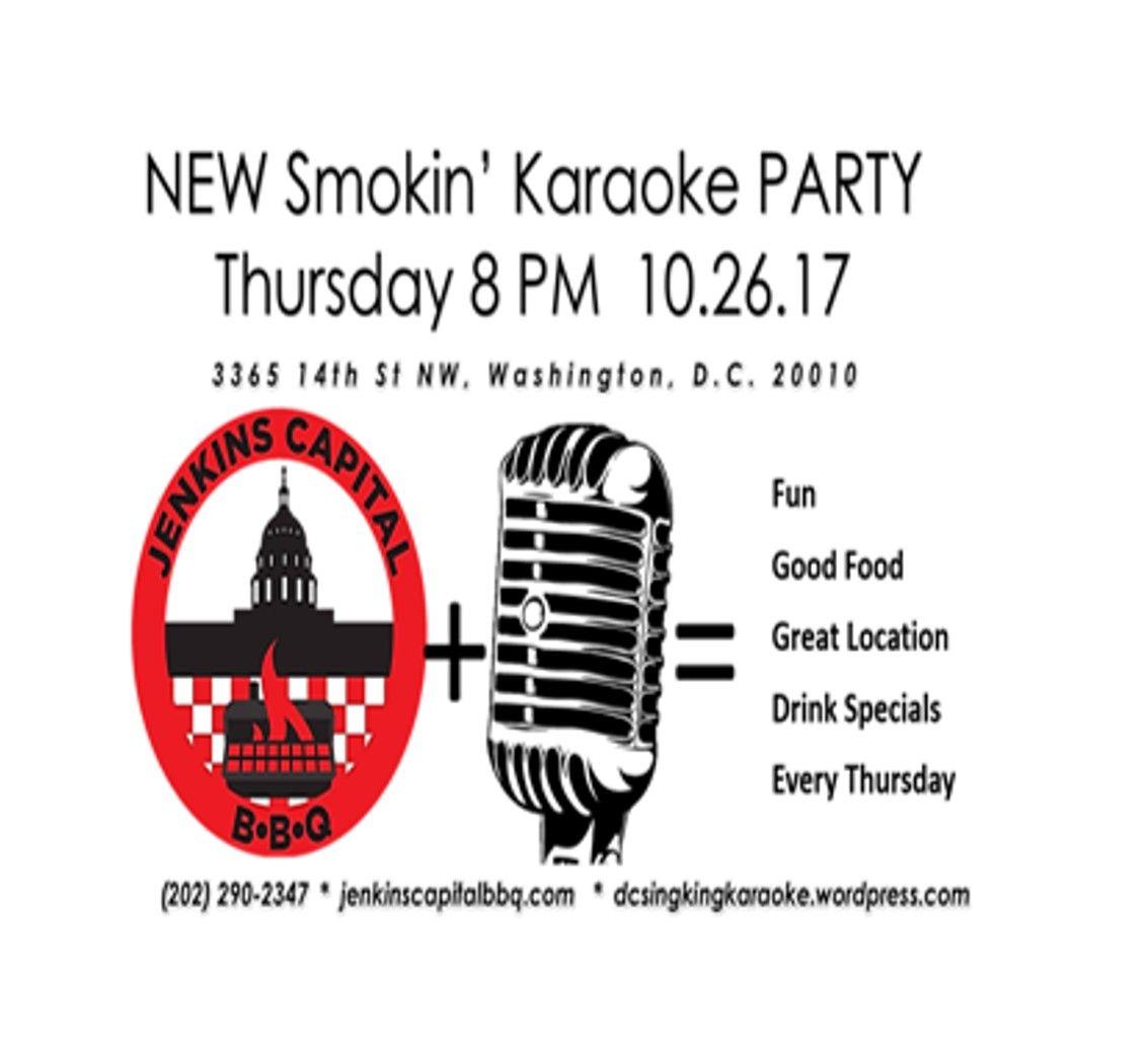Every Thursday Where Karaoke Meets BBQ! Karaoke
