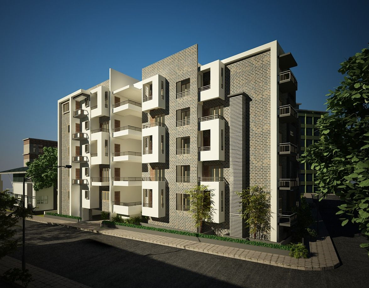 scope architecture design low rise apartment project name