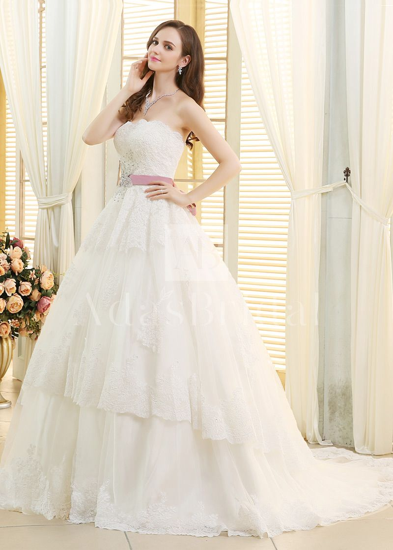 Wedding Dresses Ball Gown, Tulle Strapless