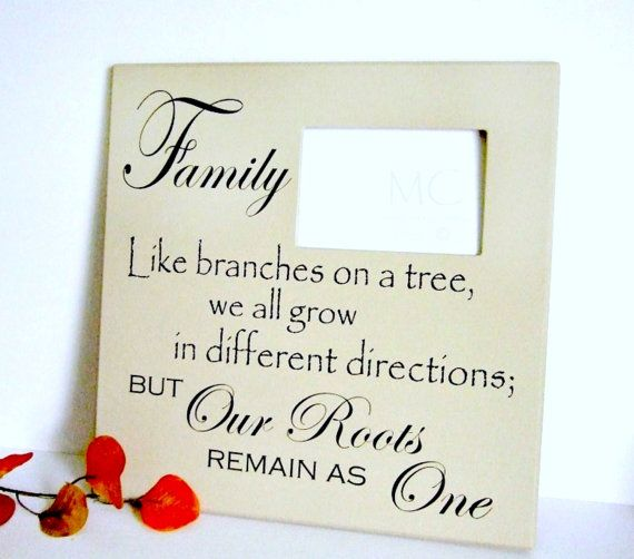 Family Photo Frame-Family Roots Gallery Wall by MulberryCreek