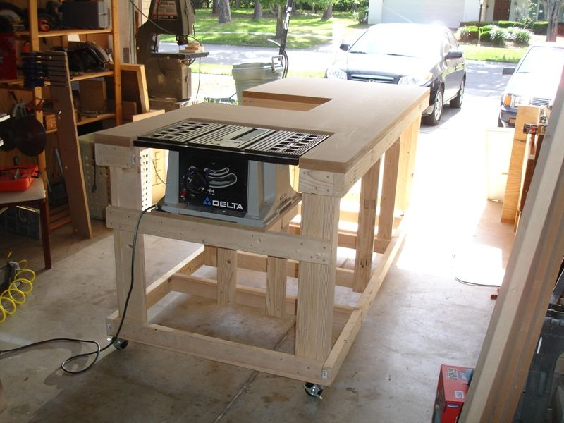 Ultimate workbench backyard woodworking and woods for Outdoor workshop plans