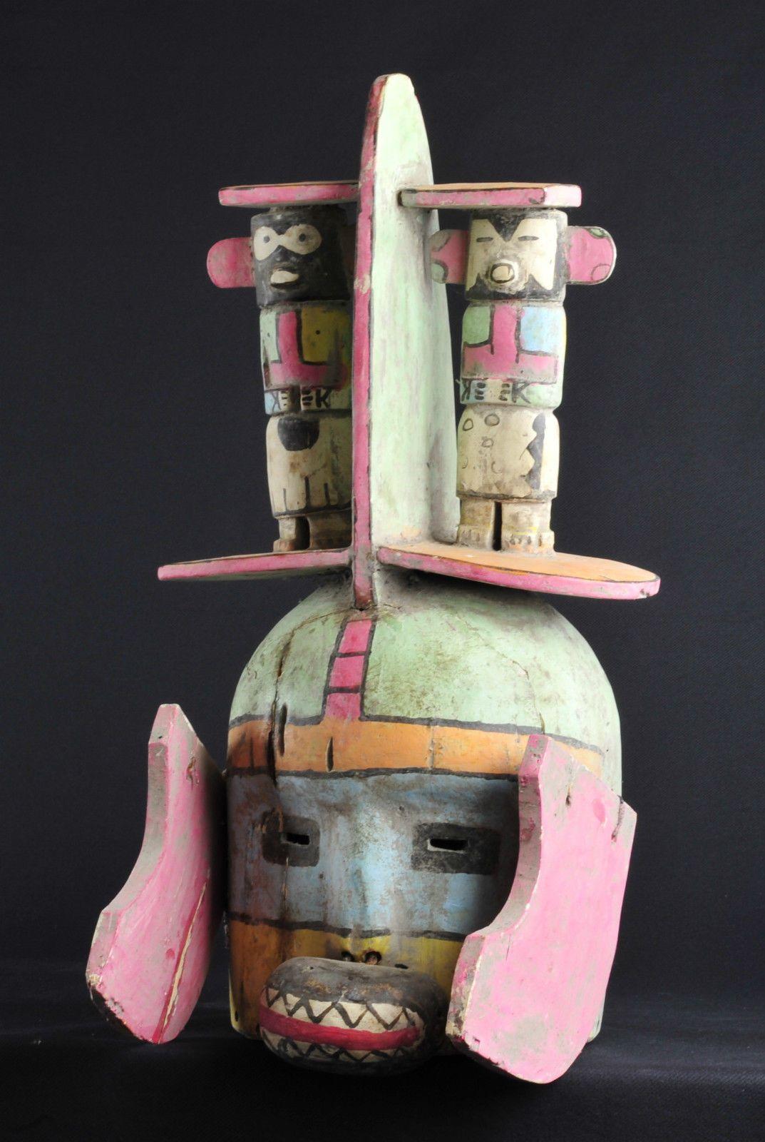 Superb Hopi Indian Mask Katsina Kachina Native American Indian Masque Masker | eBay