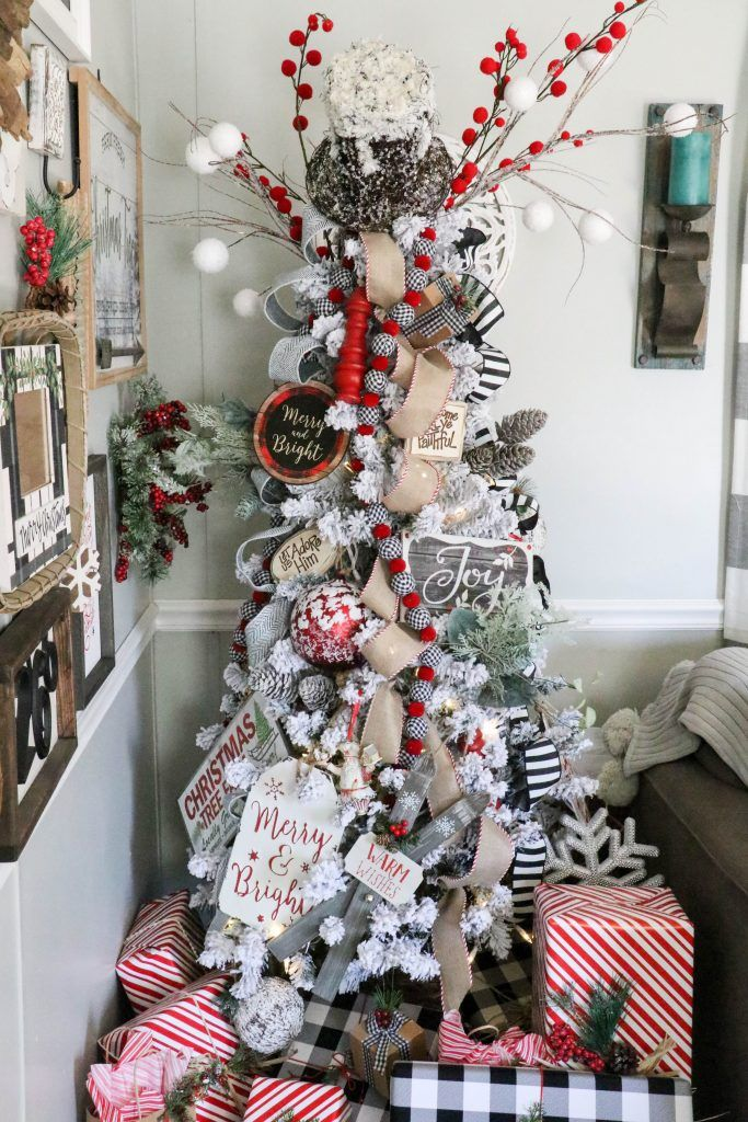 2018 Trendy Christmas Tree - Re-Fabbed