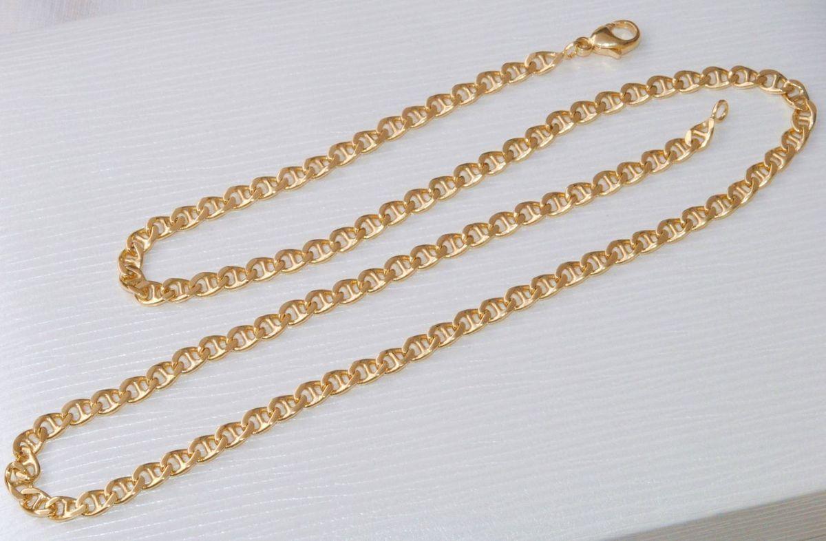 belle chaine unisexe en or jaune massif 18 k carats maille marine 20 50 gr ref b 839. Black Bedroom Furniture Sets. Home Design Ideas