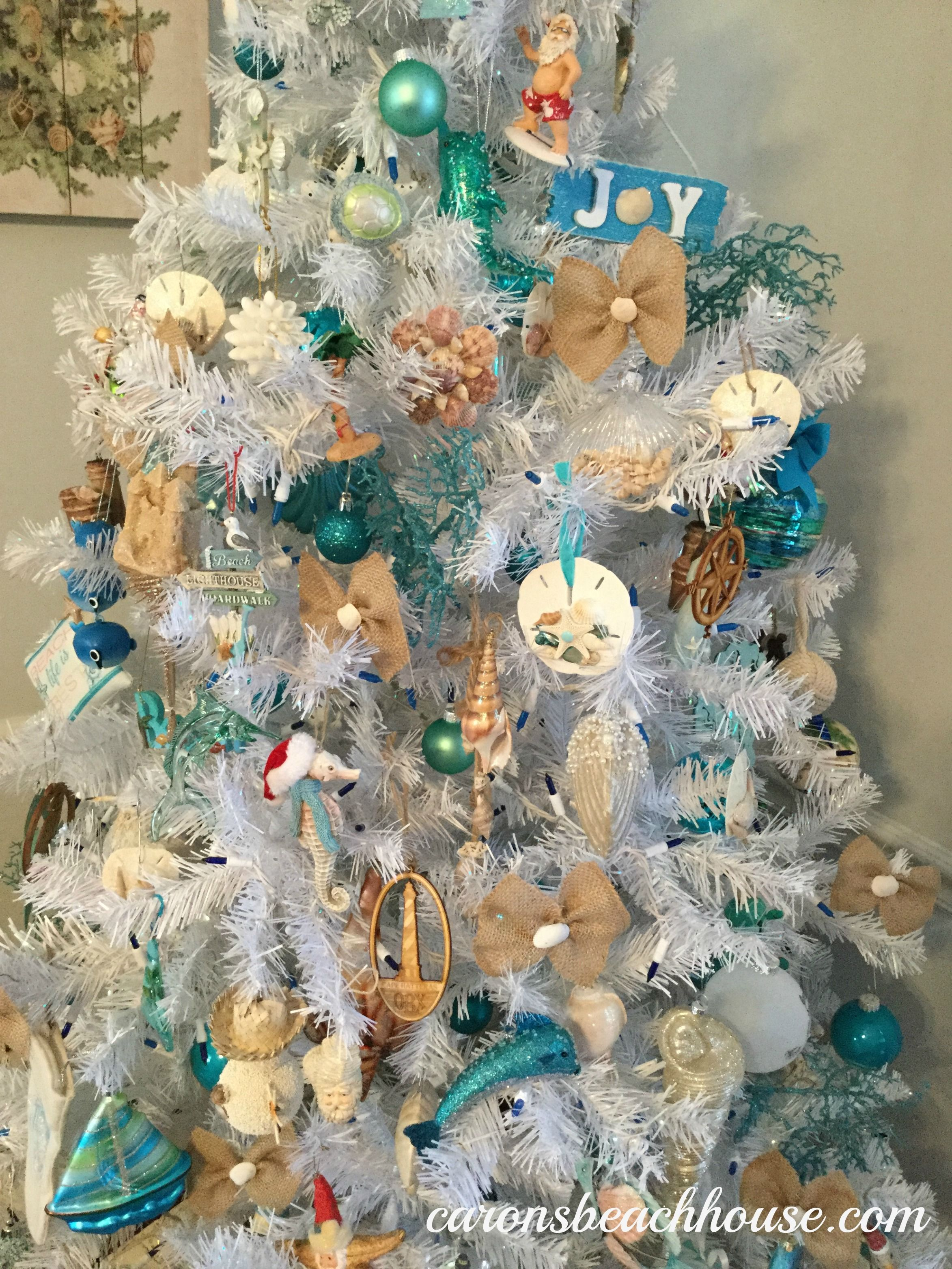 Winning Coastal Christmas Tree Mermaid Christmas Tree Beach Christmas Trees Coastal Christmas Tree