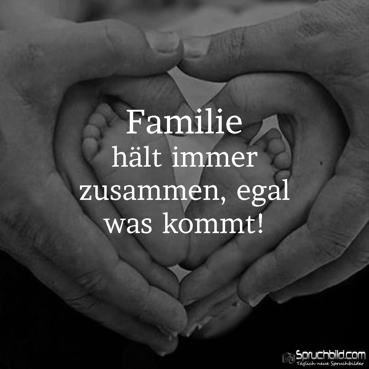 Familie hält immer zusammen   I like   Quotes, Poems und True words