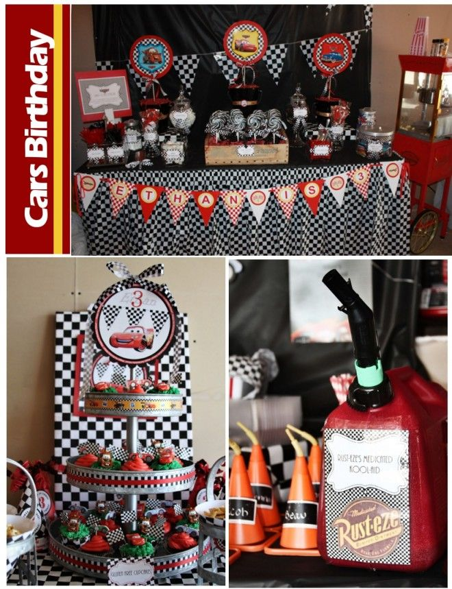 Disney Cars Birthday Party Disney cars birthday Cars birthday