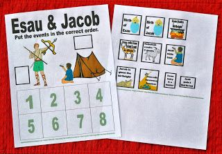Esau and jacob bible activities in 2018 pinterest for Jacob and esau crafts