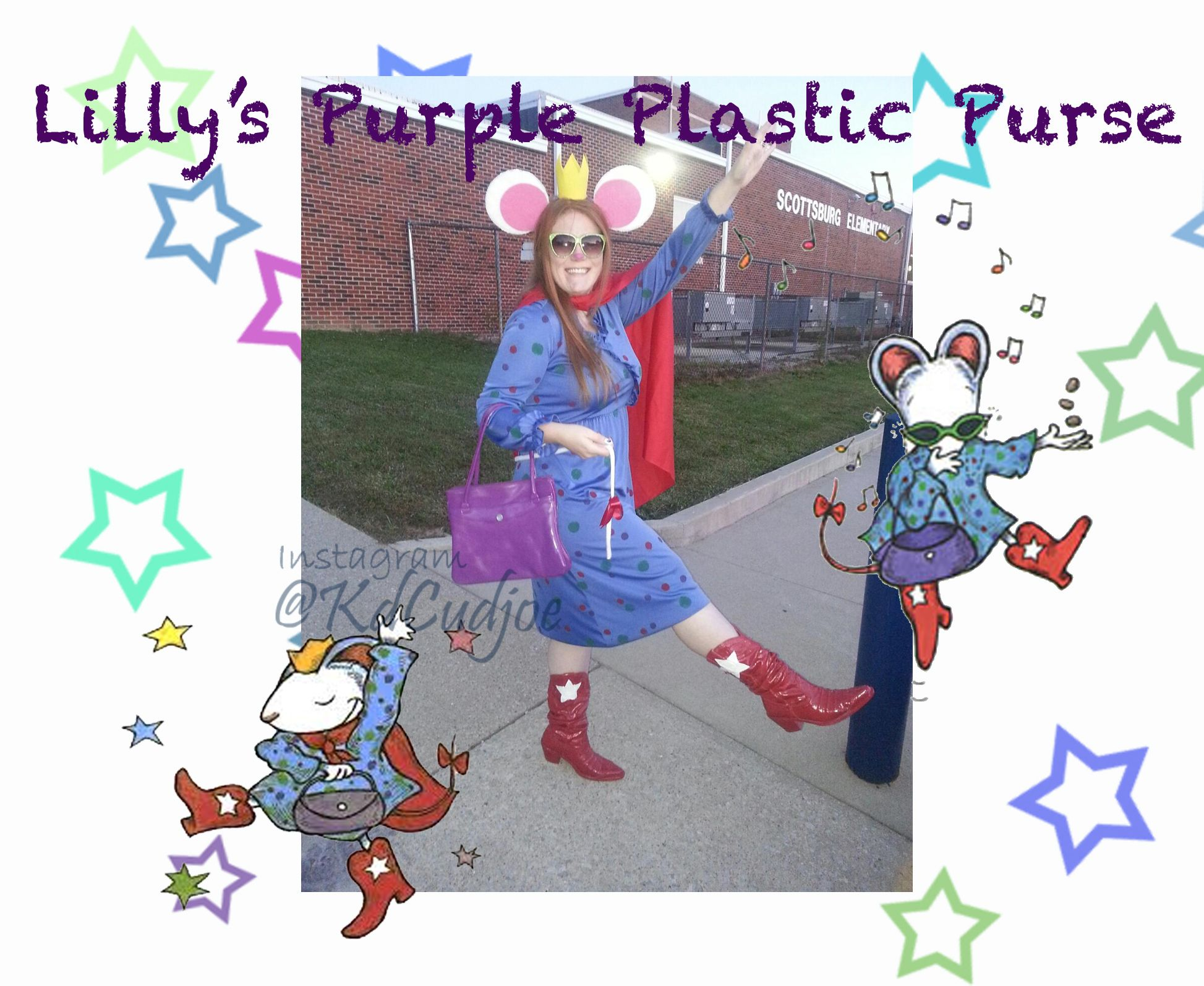 Lilly S Purple Plastic Purse Costume Teacher Costume