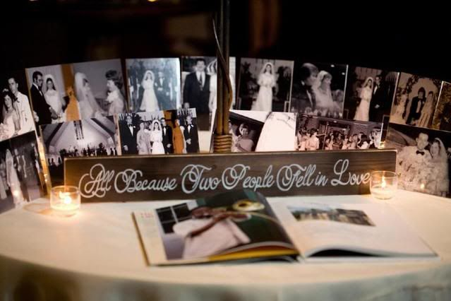 Sweetheart table at wedding reception love this idea for for Wedding table sign ideas