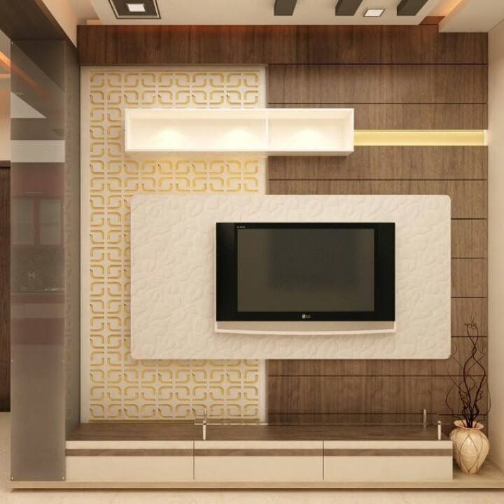 Living Room Cabinet Design In India: Modern Tv Wall Units, Living Room Tv Unit