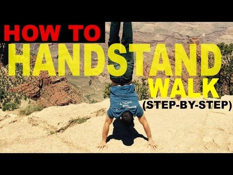 Handstand Walk Are Fun To Do But Frustrating To Master Here S Our Five Step Progression For Learning Handstand In 2020 Handstand Types Of Yoga Different Types Of Yoga